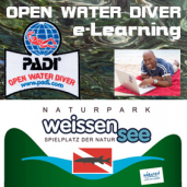PADI OWD mit  e-LEARNING